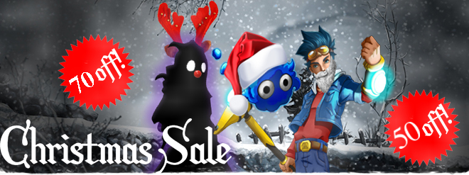 Christmas Sale: Nihilumbra 70% OFF & Megamagic 50% OFF!