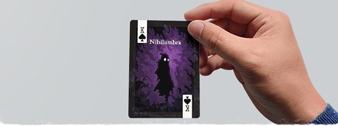"Nihilumbra & Megamagic featured at ""Video Games Playing Cards"". Support 'em at Kickstarter!"