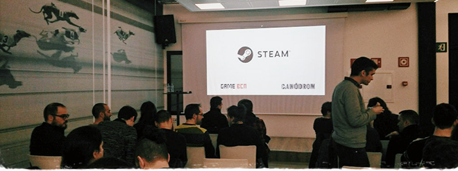 Steam Games at Barcelona!